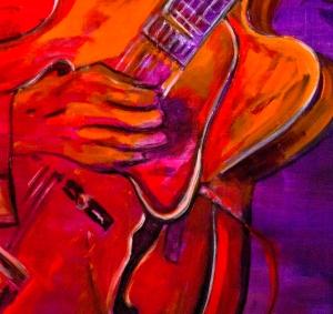 Ursula Leinfelder_Gitarrenspieler_140 x 100 cm web kl